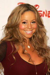 Infertility acupuncture helped Mariah Carey.