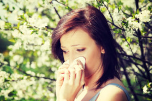 Allergy symptoms may be reduced after acupuncture treatment.
